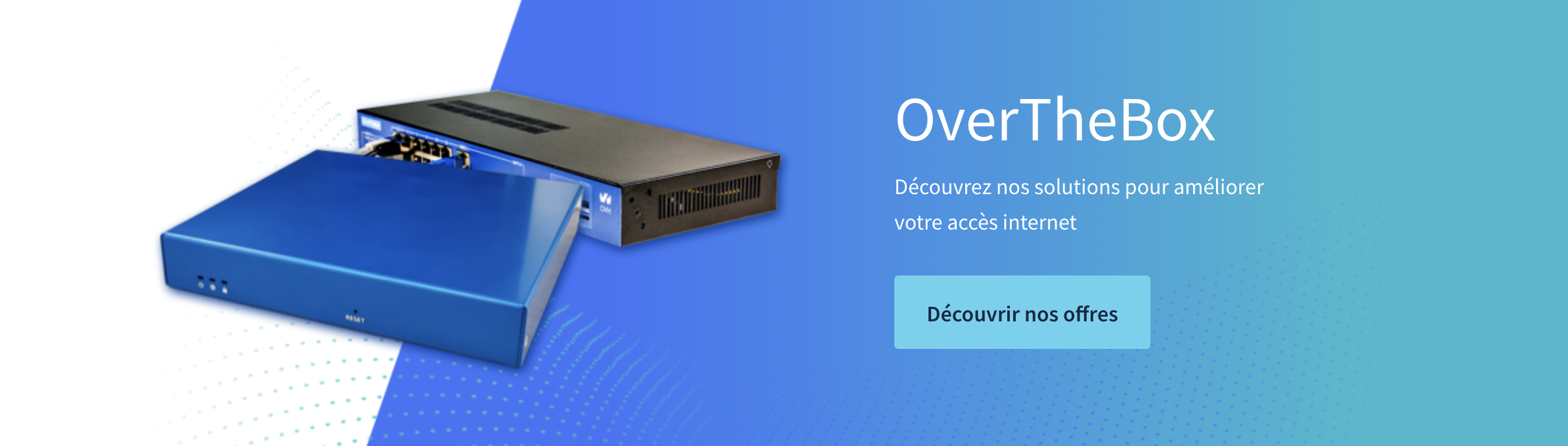 Accueil OVH Box